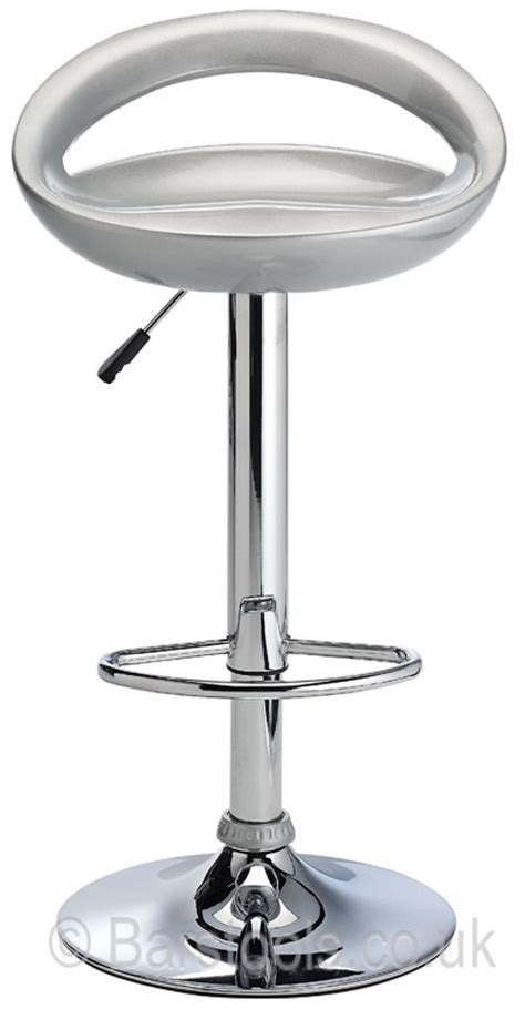 Bar Stools Silver by Crescent Bar Stool Silver