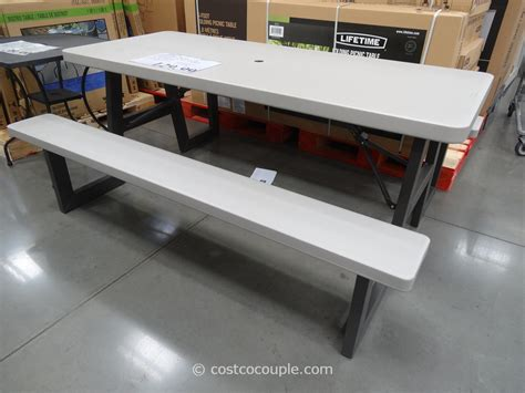 lifetime 6 folding table costco lifetime products 6 folding picnic table