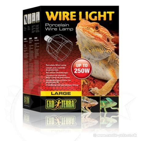 exo terra wire light small exo terra wire light porcelain wire l