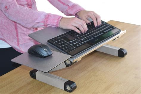 adjustable keyboard tray for desk lift standing desk conversion kit tall portable