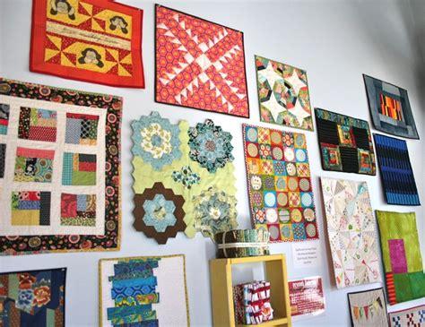 atlanta modern quilt guild display whipstitch
