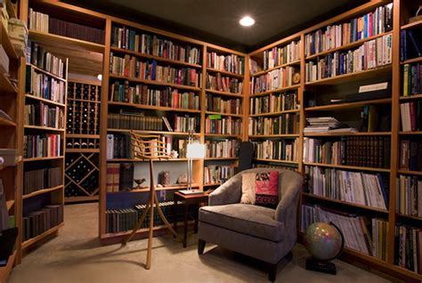 cozy library styles for your houses decoration trend