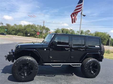 jeep hardtop 2016 2016 jeep wrangler unlimited black out custom 24s hardtop