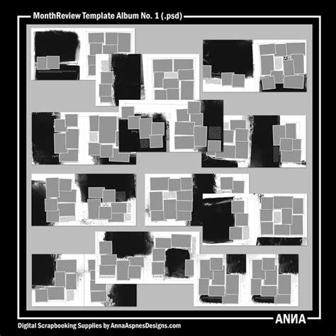 Album Review Outline by Oscraps Shop By Designer Aspnes Designs Monthreview Template Album No 1