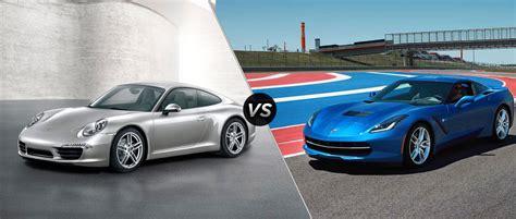 2015 corvette vs porsche 911s autos post