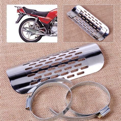 Motorcycle Exhaust Muffler Pipe Heat Shield Cover Guard