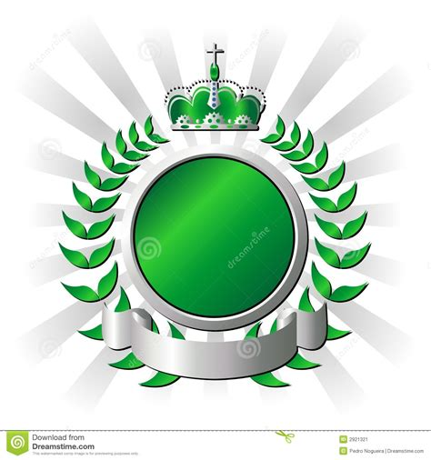 Royal Green royal green shield stock vector image of aristocratically