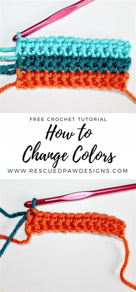 how to change color in crochet how to change colors in crochet the easy way of changing