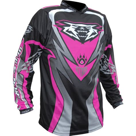 pink motocross jersey wulf attack cub motocross jersey pink kit