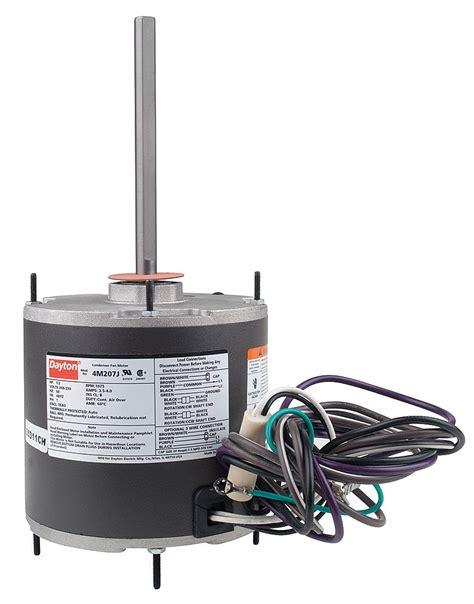 1 2 hp well capacitor dayton 1 2 hp condenser fan motor permanent split capacitor 1075 nameplate