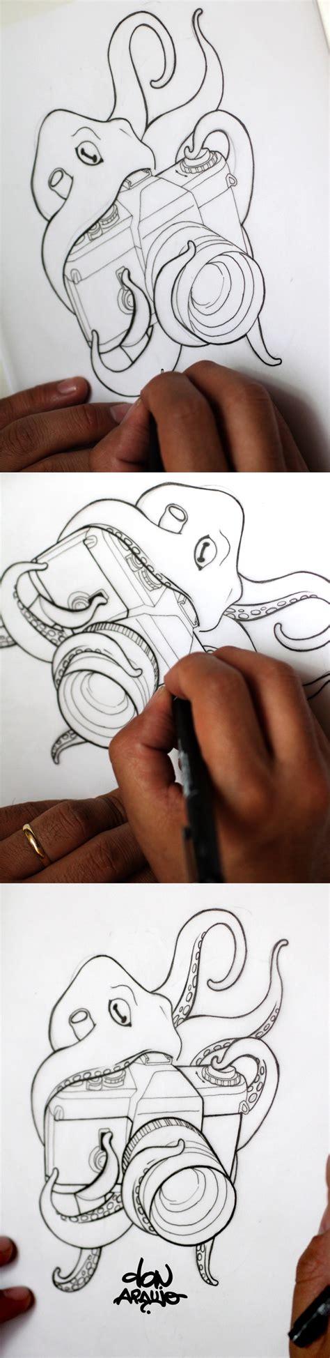 flash tattoo jobs to my new tattoo love octopus and my first cam reflex