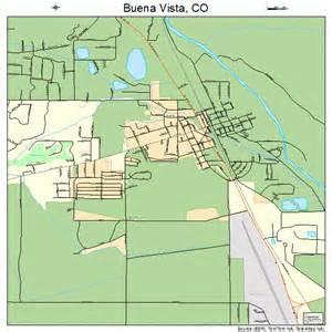 map of buena vista colorado buena vista colorado map 0810105