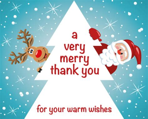 Do You Send Thank You Cards For Christmas Gifts - a very merry thank you free thank you ecards greeting cards 123 greetings