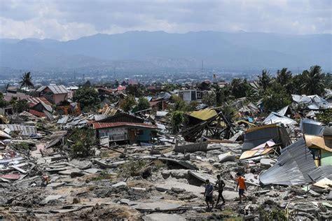 tsunami palu indonesia tsunami worsened by shape of palu bay