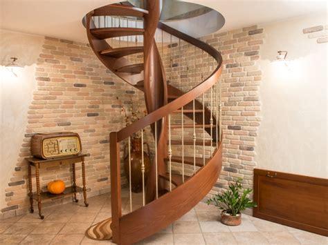 scale di legno per interni ringhiere scale in legno fai da te design casa creativa