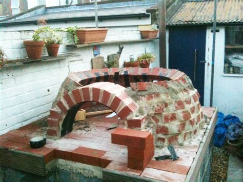 backyard brick oven how to make an outdoor brick oven from recycled materials permaculture magazine