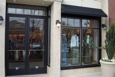 anodized aluminum entry doors  commercial buildings