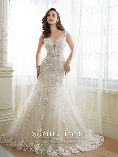 Non Designer Wedding Dresses by Y11643 Mon Cheri Bridals