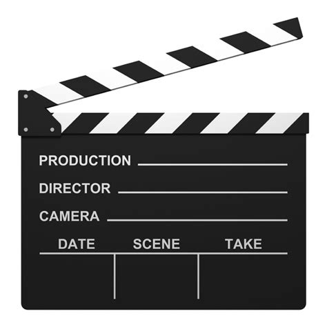 Movie Clapper Clipart Clipart Panda Free Clipart Images Clapper Board Template Free