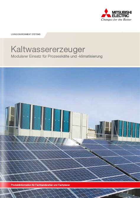 chiller e series mitsubishi electric innovations