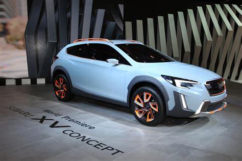 subaru evo 2016 subaru xv concept unveiled at 2016 geneva motor evo