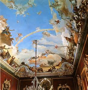 painting on ceiling cityzenart tiepolo ceiling paintings