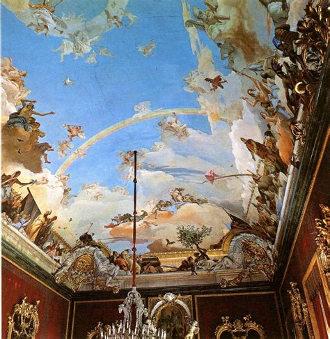 ceiling art cityzenart tiepolo ceiling paintings