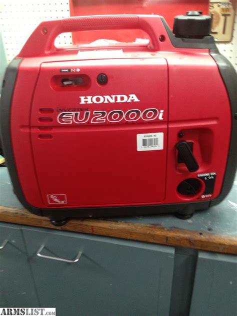 Honda Eu2000i Sale by Armslist For Sale Honda Eu2000i Generator