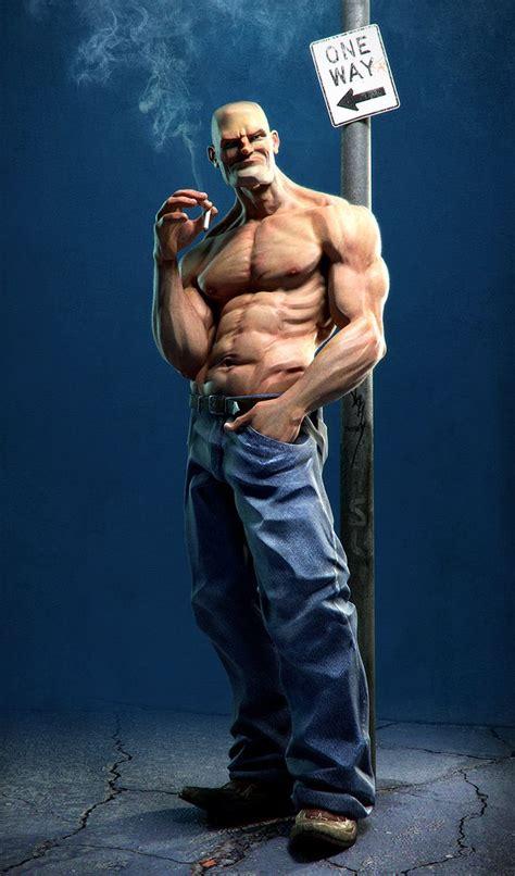 male artist models popeye 3d art pinterest chang e 3 tutorials and models