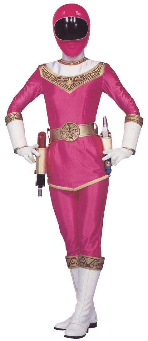 Power Rangers Dino Charge Pink Transparent katherine hillard pink zeo ranger morphin legacy