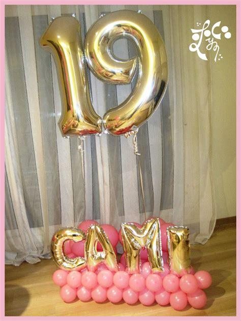 como decorar globos de numeros decoracion con globos cumplea 209 os sorpresa eleyce eventos