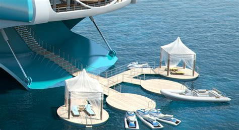 yacht island design new architecture design city floating island yacht