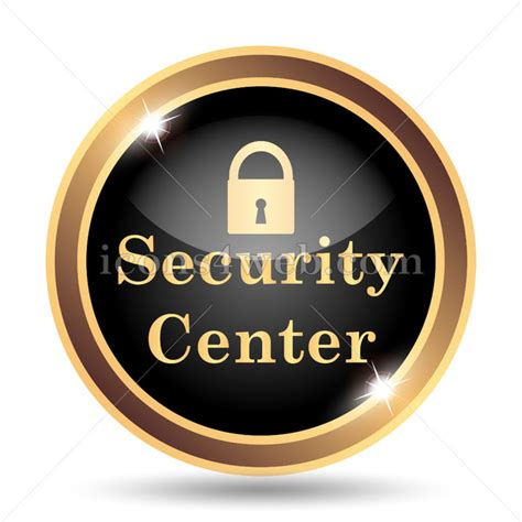 security center gold icon