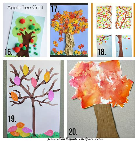 tree craft ideas for preschoolers 20 fall tree arts crafts ideas for the