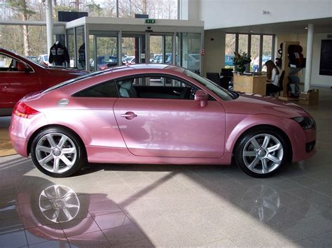 pink sparkly cars pink audi tt all things pink and sparkly