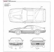 Knight Rider Limitation Prototype KARR W/Front Scanner