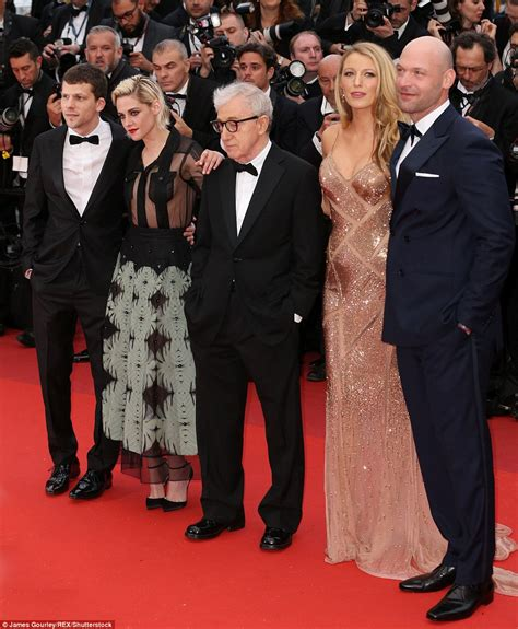 cast cafe cannes festival s premiere of cafe society carpet