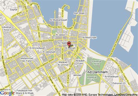 dammam map