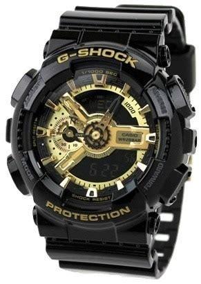 Casio G Shock Ga 110gb 1a Original rel 243 gio casio g shock ga110gb 1a preto dourado 100