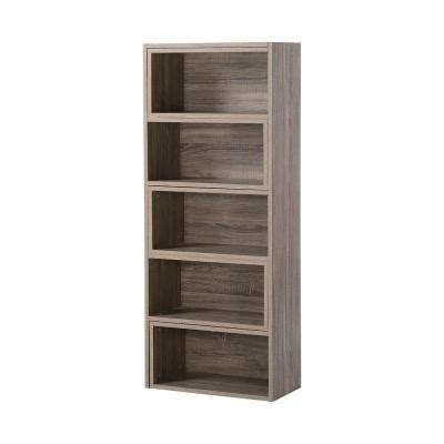 5 or 9 shelf decorative expandable shelving console in