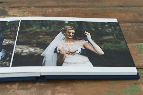 album cover coffee table book wedding album design chloe anthony wedding albums