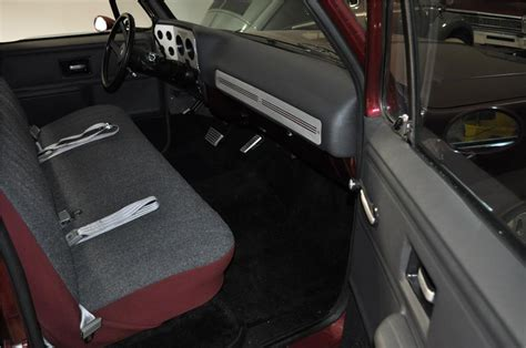 1978 Chevy Truck Interior by 1978 Chevrolet C 10 Custom Barrett Jackson