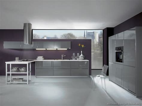 Grey Modern Kitchen Cabinets Pictures Of Kitchens Modern Gray Kitchen Cabinets Kitchen 4