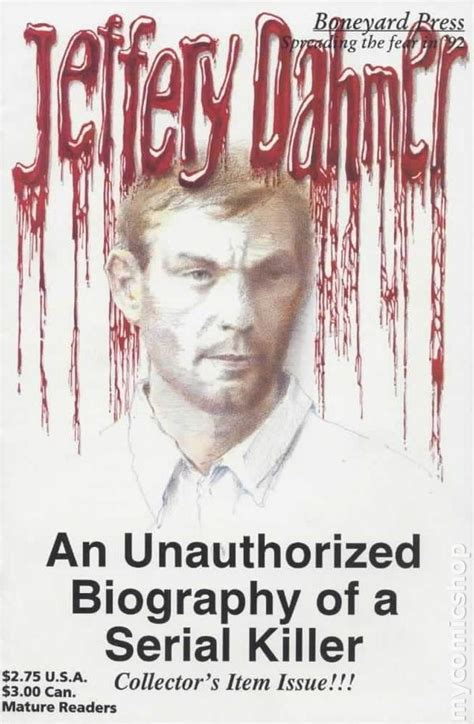 biography movies about serial killers jeffery dahmer 1992 comic books