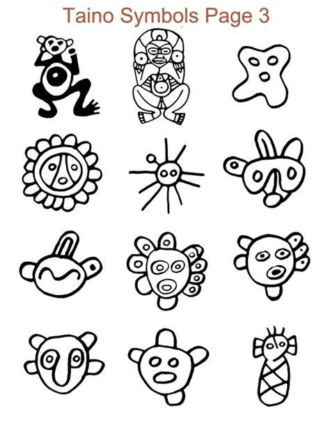 imagenes simbolos tainos ancient taino symbols petroglyphs