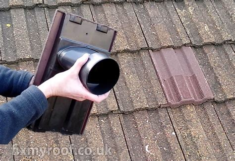 venting fan through roof roof vents easy solutions to roof ventilation