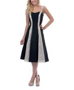 unique vintage black amp tan lace hayworth dress women