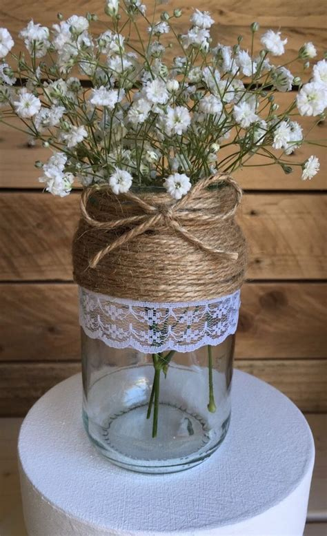 Decorated Vases For Wedding by 25 Unique Decorated Jars Ideas On Jar