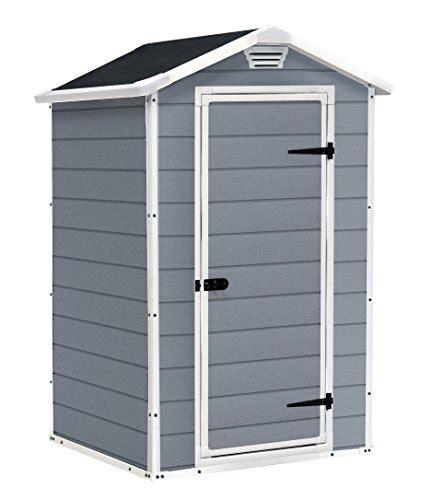 B And Q Sheds Plastic by Keter Manor Outdoor Plastic Garden Storage Shed 4 X 3