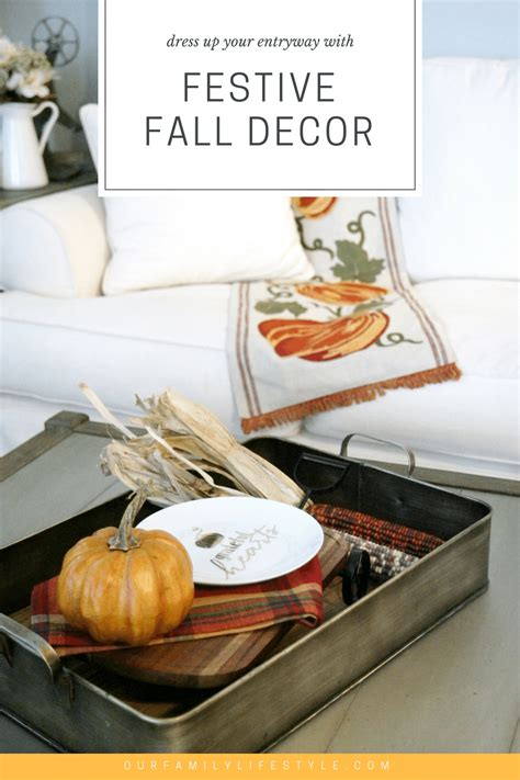 7 Festive Accessories by Dress Up Your Entryway With Festive Fall Decor
